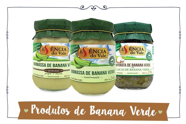 biomassa de banana verde essência do vale