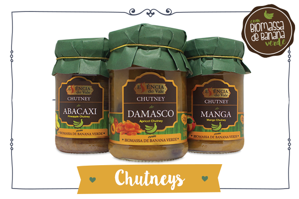 chutney essencia do vale