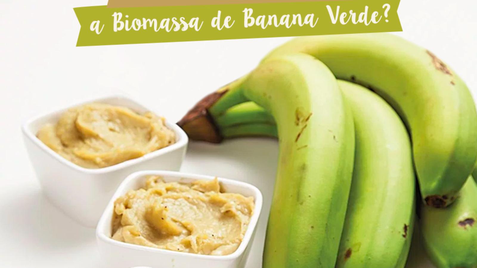 Como Utilizar no dia-a-dia a Biomassa de Banana Verde