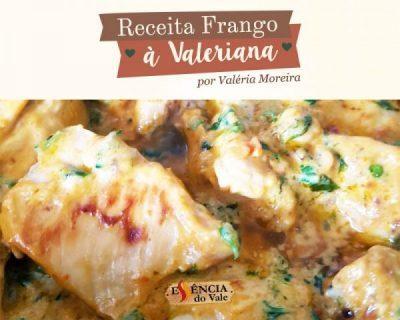 Pasta de Pimenta: Receita Frango a Valeriana