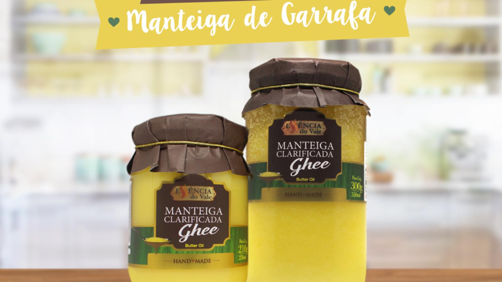 Diferença entre Manteiga Ghee e Manteiga de Garrafa